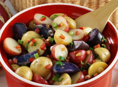 Side Delights™ Gourmet Petite Potatoes Red, White & Blue Potato Salad