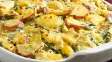 Side Delights™ Gourmet Petite Potatoes Spinach and Artichoke Heart Two Potato Casserole