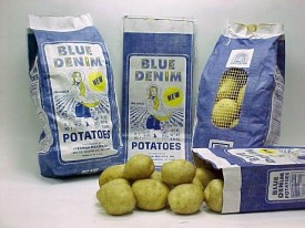 Blue Denim Potatoes