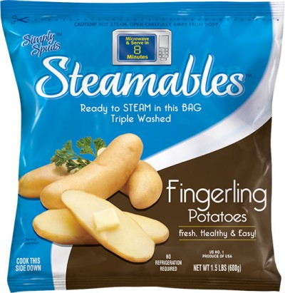 Simply Spuds™ Steamables™ Fingerlings with Wild Mushroom Sauce