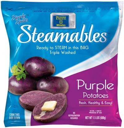 Simply Spuds™ Steamables™ Mediterranean Sun-Kissed Savory Salad